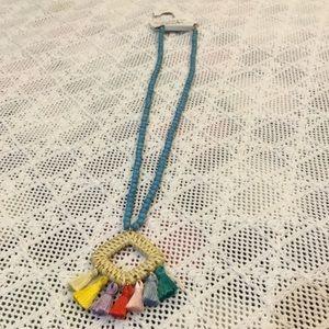 SUGARFIX BY BAUBLEBAR Tassel Boho Necklace NWT